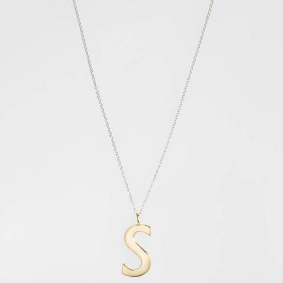 Argento vivo jewelry initial s pendant necklace sterling poshmark argento vivo initial s pendant necklace sterling aloadofball Choice Image
